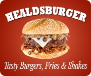 The Healdsburger - Havin'n a good ole time - Come and visit us next time you're in Healdsburg CA for some tasty burgers, fries, and shakes